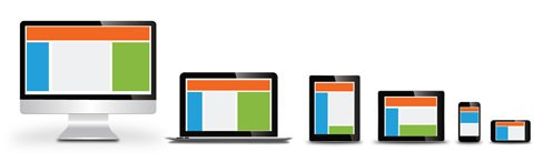 We design mobile and responsive websites