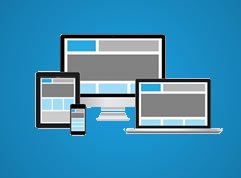We design fully responsive websites
