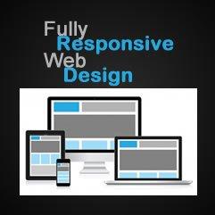 We design fully responsive websites