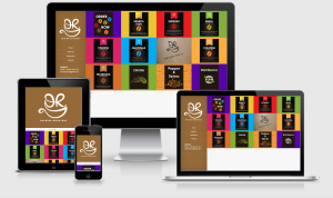 Origins Roastery responsive website